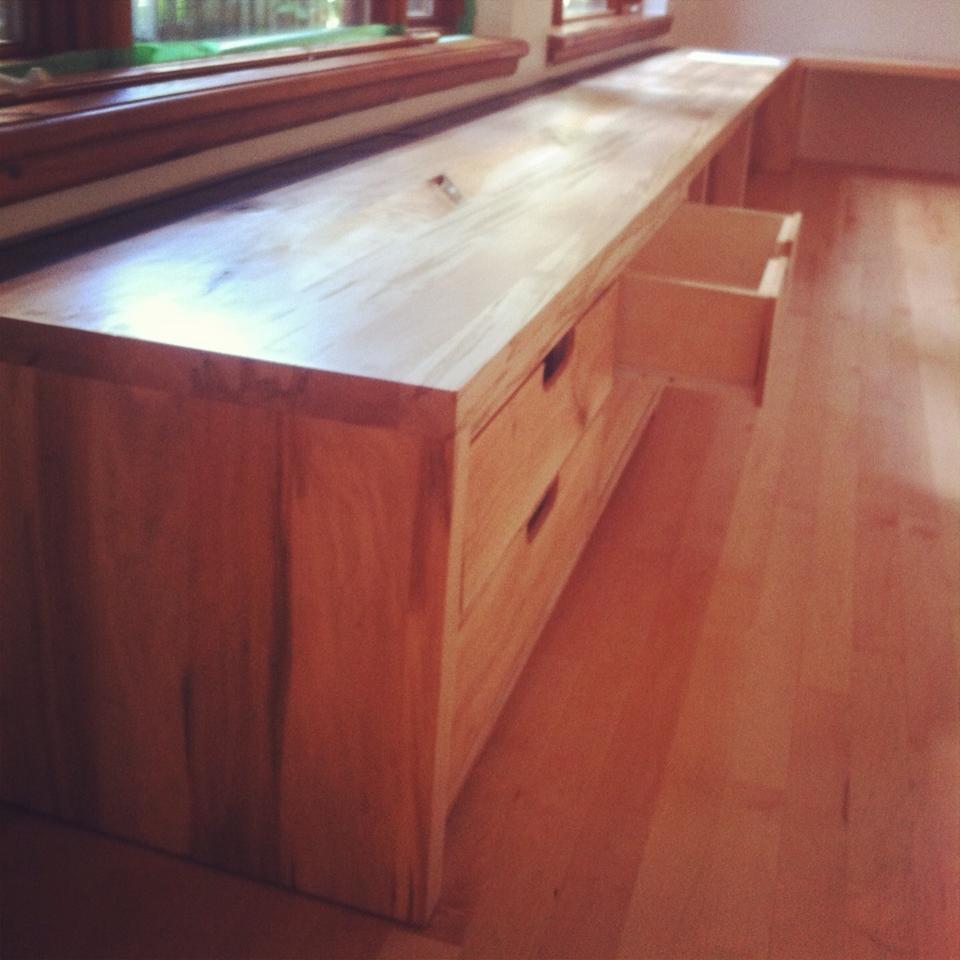 mobilier bois et acier sur mesure j r me lavoie b niste. Black Bedroom Furniture Sets. Home Design Ideas